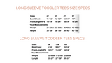 BE GOOD TO PEOPLE - Long Sleeve Infant & Toddler Tee