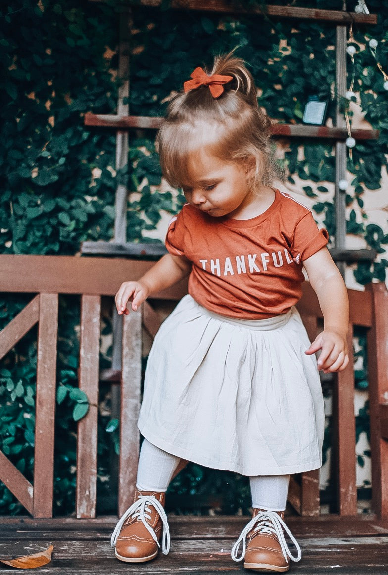 THANKFUL ( HAND DYED ) - Onesie & Toddler tee