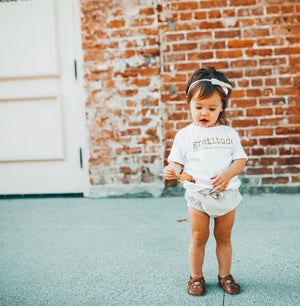 GRATITUDE - Onesie , Toddler & Youth  Tee