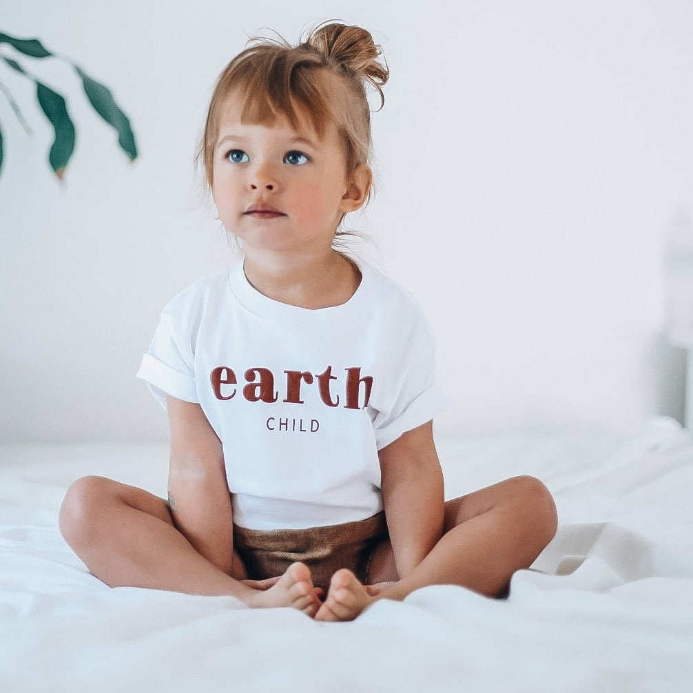 EARTH CHILD - Onesie  - Toddler Tee - Youth Tee