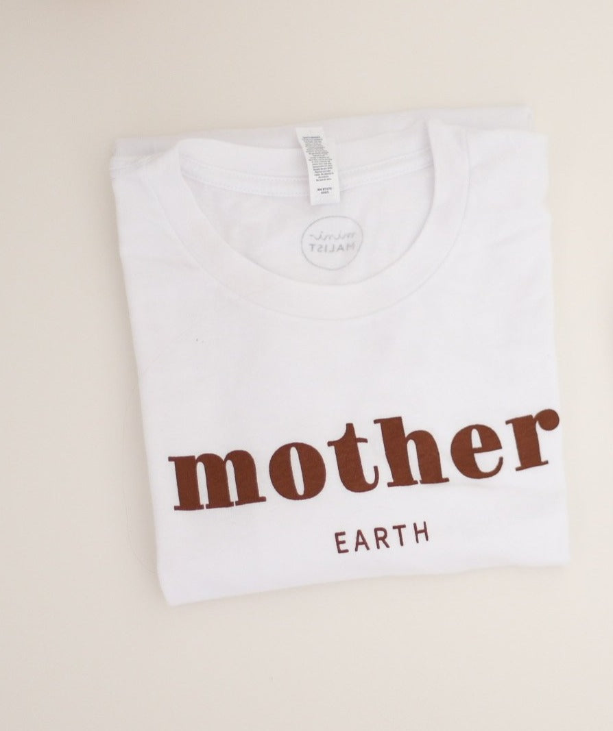 MOTHER EARTH - Adult Unisex Crewneck Tee