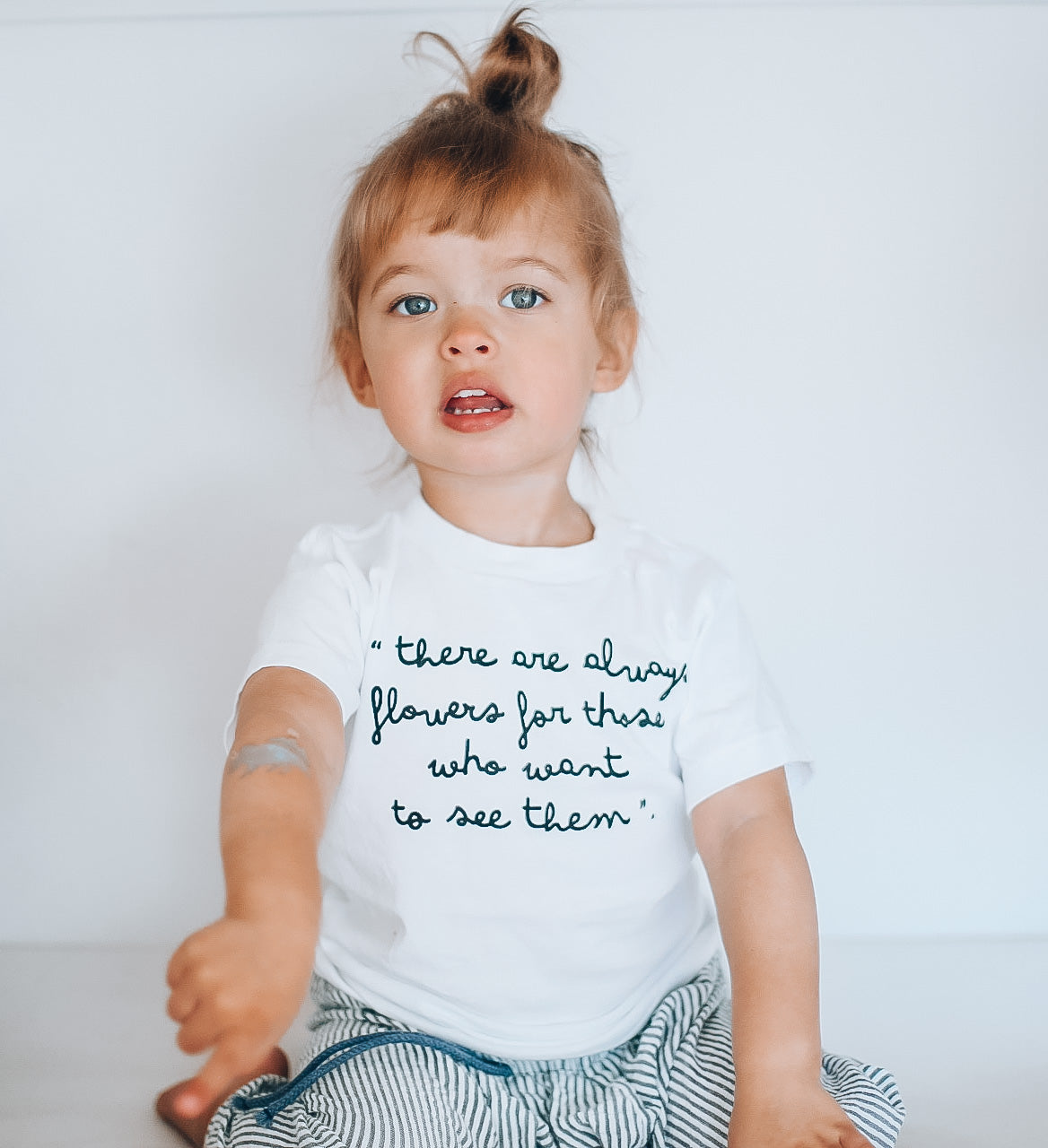 THERE ARE ALWAYS FLOWERS - Toddler Tee - Youth Tee