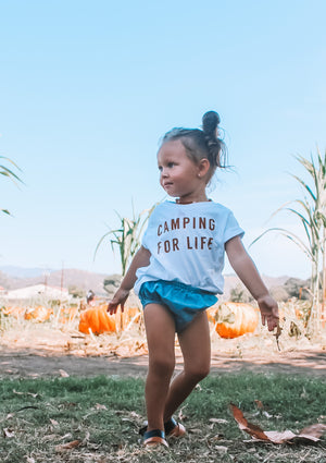 CAMPING FOR LIFE - Onesie, Toddler & Youth Tee