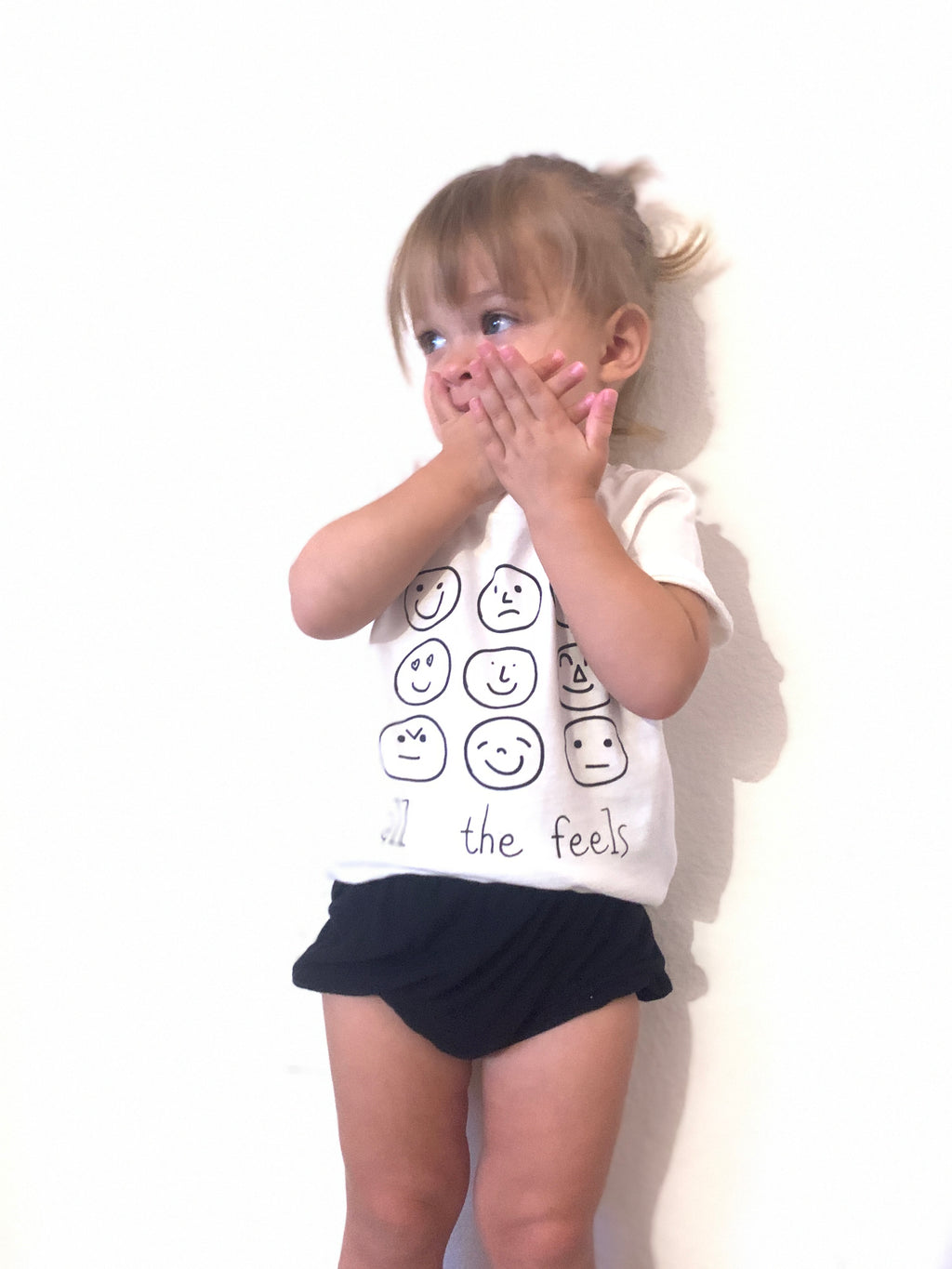 ALL THE FEELS  - Infant  & Toddler Tee