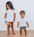 JOLLY VIBES - Onesie | Infant |  Toddler & Youth Tee