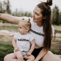 MOMMING  - Adult Women's Boyfriend  Fit Tee