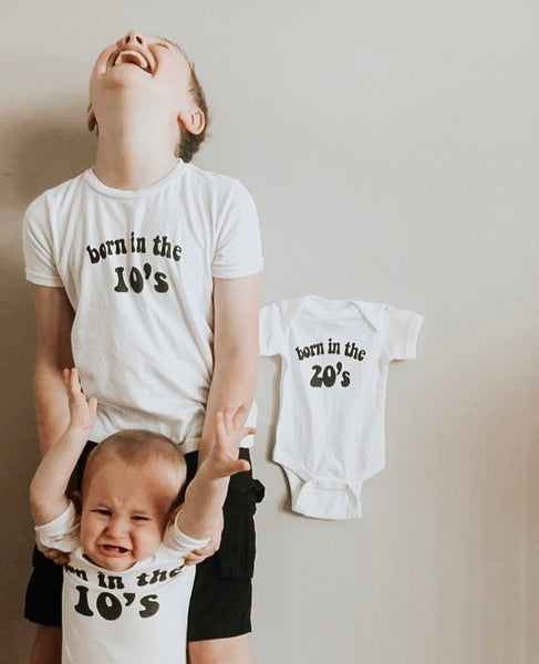 BORN IN THE 20'S Onesie | Tee