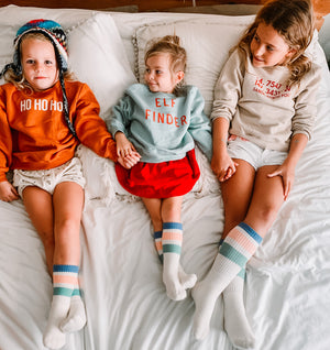 RETRO SOCKS -Toddler, Youth & Adult