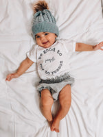 BE GOOD TO PEOPLE - Onesie & Toddler Tee