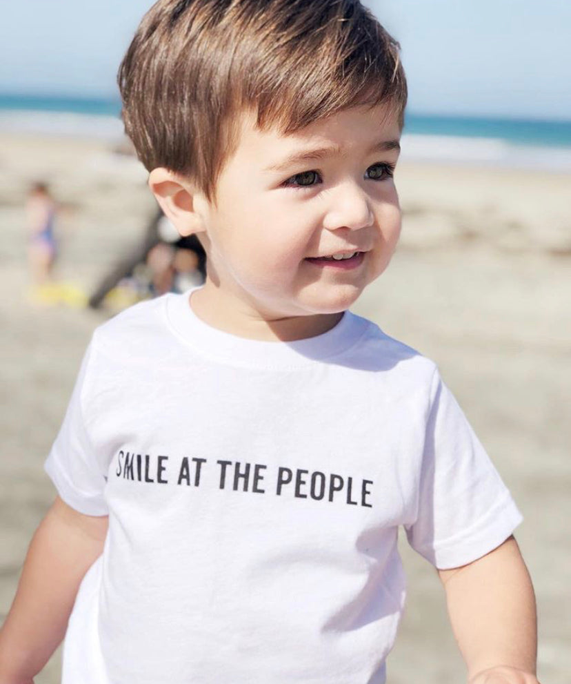 SMILE AT THE PEOPLE - Toddler T-shirt