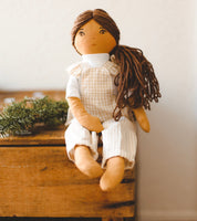HATTIE - Handmade Heirloom Doll
