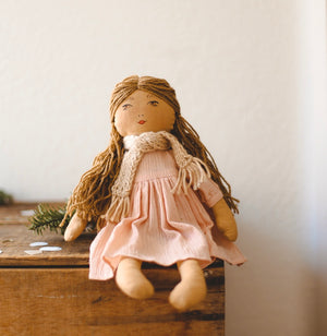 TINA - Handmade Heirloom Doll