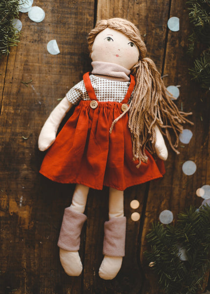 HAZEL - Handmade Heirloom Doll