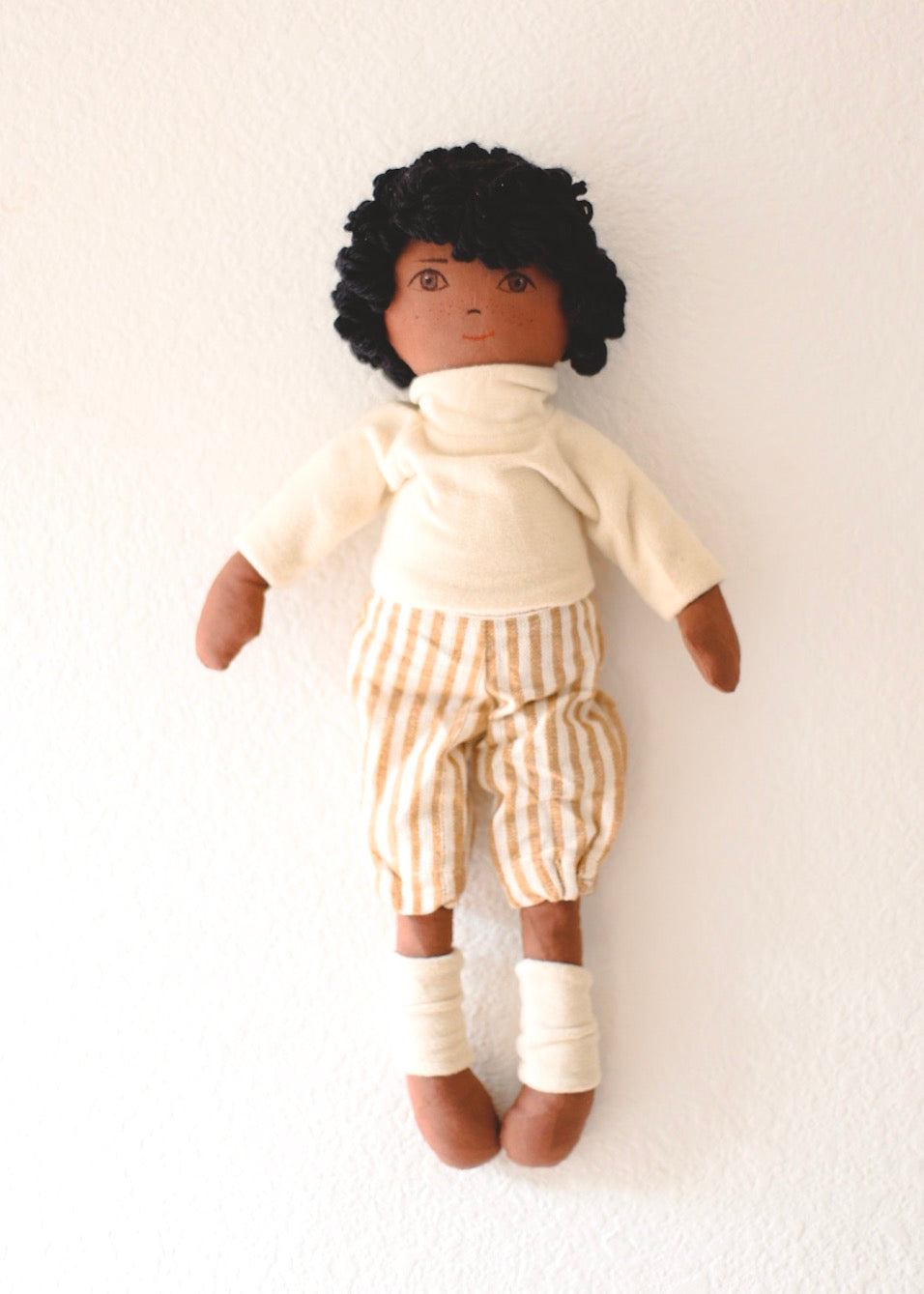 LUCAS - Handmade Heirloom Doll