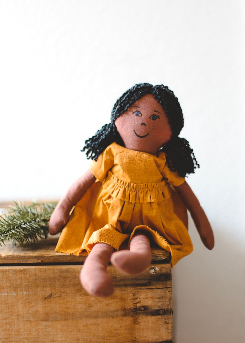 LOLA - Handmade Heirloom Doll