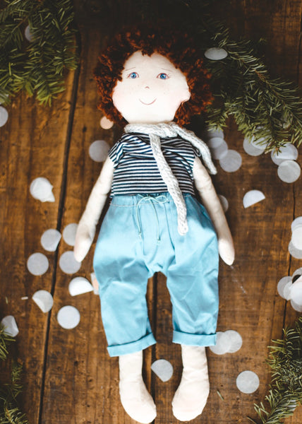 FREDERICK - Handmade Heirloom Doll