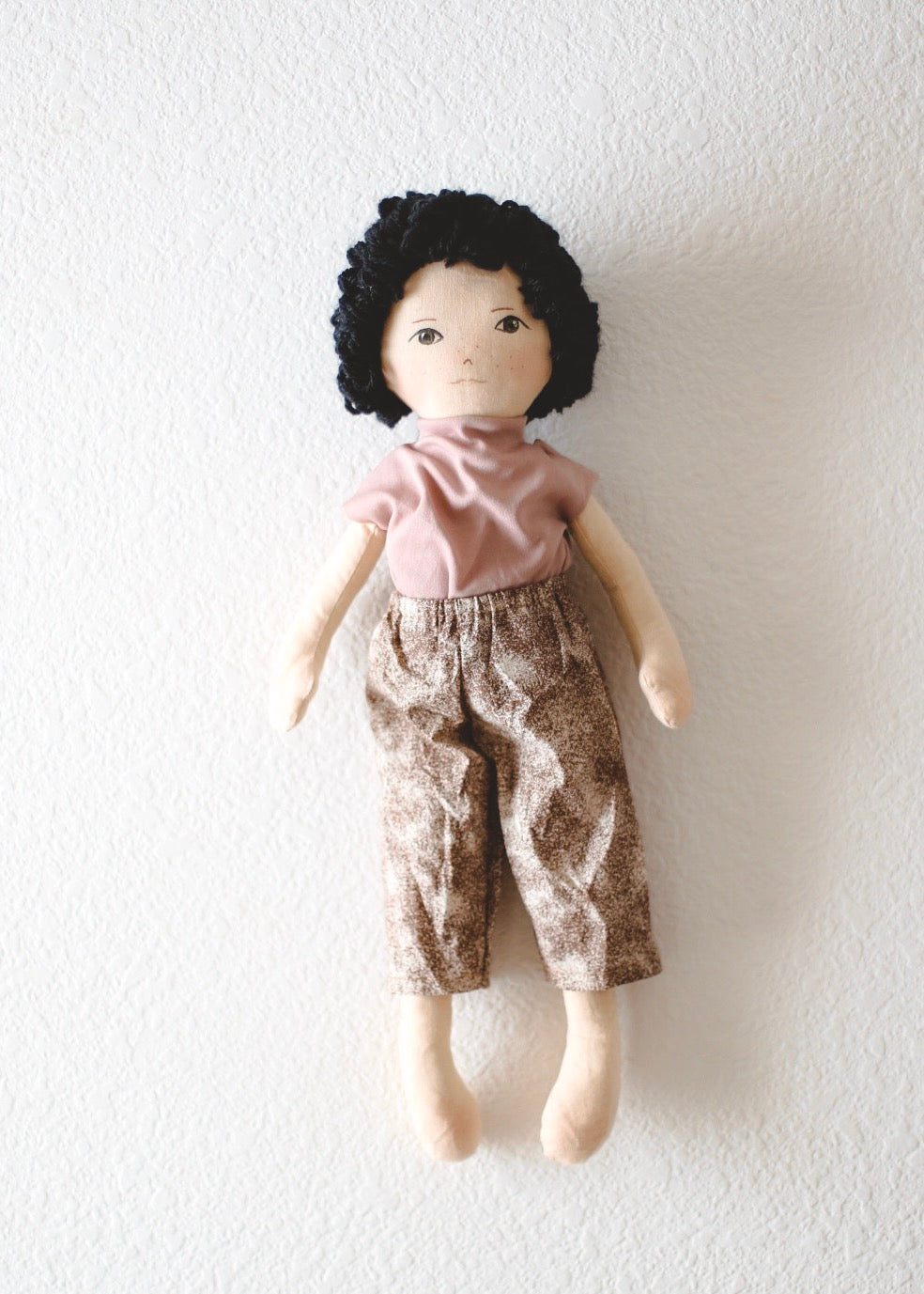 LOUIS - Handmade Heirloom Doll