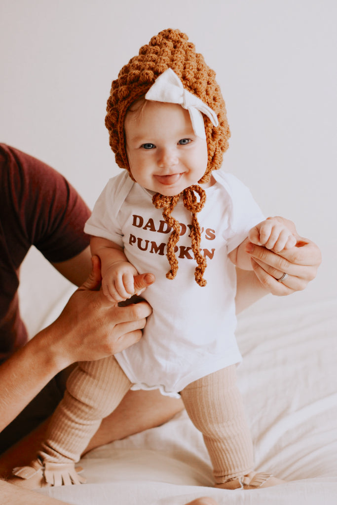 DADDY'S PUMPKIN - Onesie & Toddler Tee