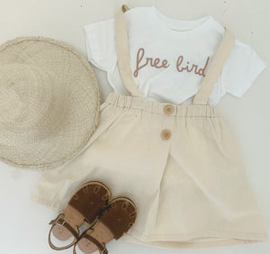 FREE BIRD  - Onesie | Toddler | Youth - ( LIGHT BROWN )