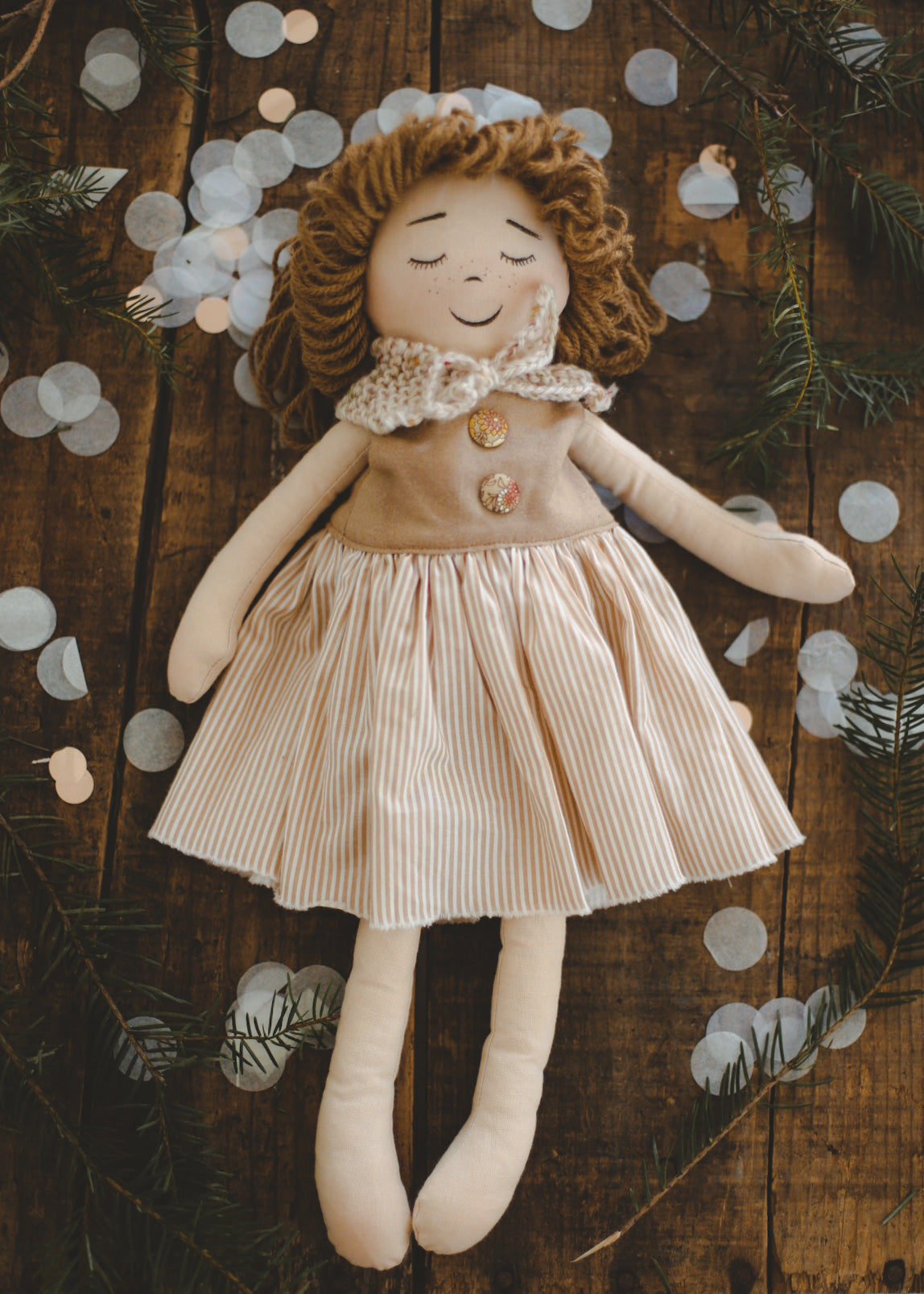 LIZ - Handmade Heirloom Doll