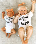 BAREFOOT & HAPPY - Infant & Toddler Tee