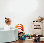 HAPPY HUMAN LAUNDRY BAG / TOY STORAGE