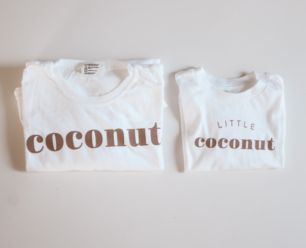 COCONUT  - Adult Women's Boyfriend Fit Tee