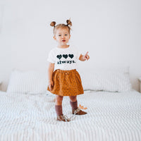 LOVE ALWAYS  - Onesie & Toddler Tee