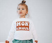 MON AMOUR  - TODDLER SWEATSHIRTS