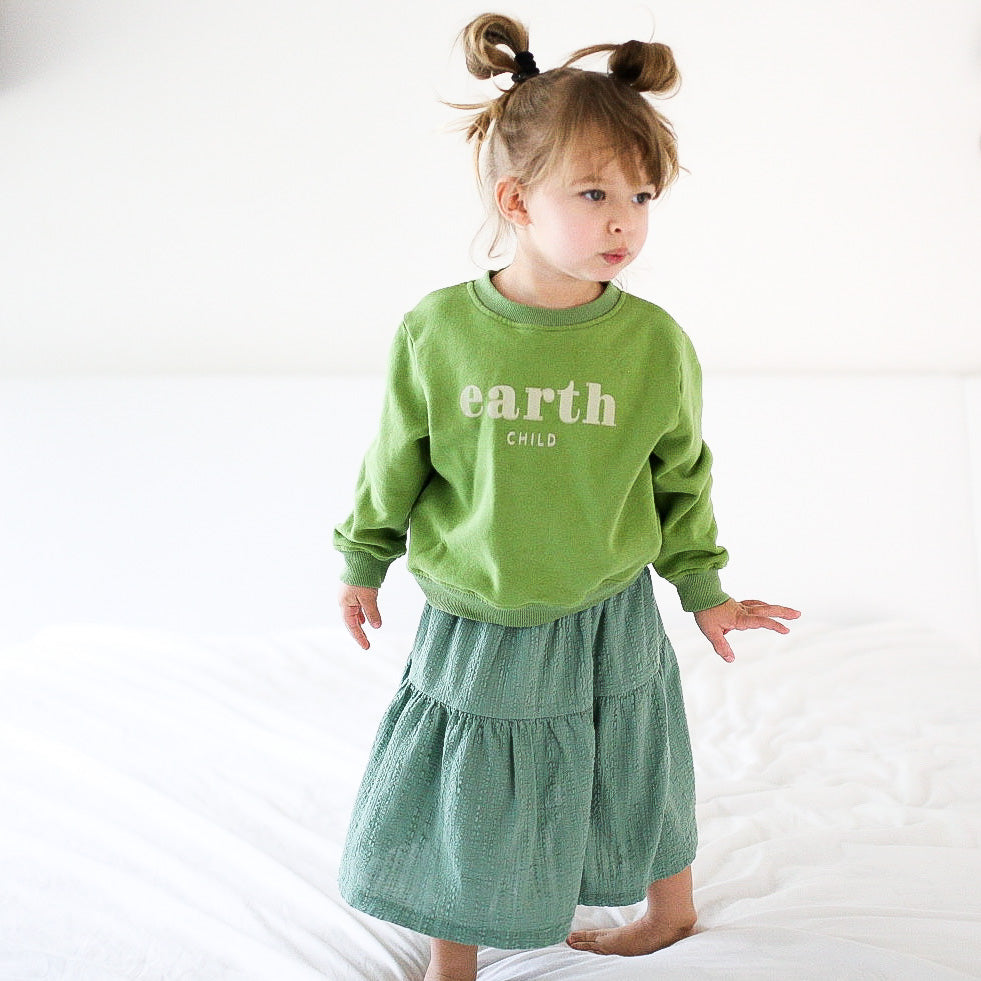 EARTH CHILD - Infant, Toddler & Youth  Terry Cotton Sweatshirt