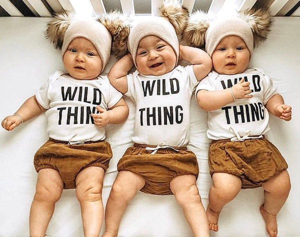 WILD THING - Onesie & Toddler T-Shirt