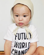 FUTURE WORLD CHANGER - Onesie & Toddler Tee