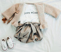 LOVE WINS - Onesie & Toddler T-Shirt