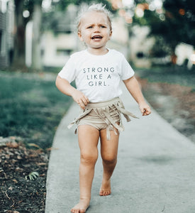 STRONG LIKE A GIRL - Onesie | Toddler & Youth  T-Shirt