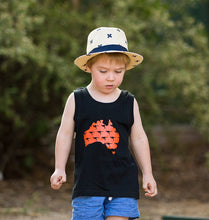 Load image into Gallery viewer, Australiana kids shirt, Australian baby gifts, Australian baby boy, Australian toddler boy, Australia boy toddler shirt, Aussie boy tank top