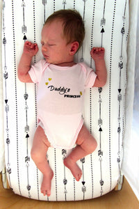 Daddy's Princess romper, Princess romper, Daddy's princess bodysuit, Coming home girls outfit, Daddy's Princess all in one suit, baby girl