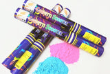 Gender Reveal  Holi Powder Smoke Colour Cannon Pack with 4 pcs - 40 cm