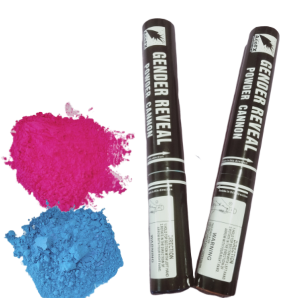 Gender Reveal Premium Holi Powder Smoke Colour Cannon Pack with 2 pcs