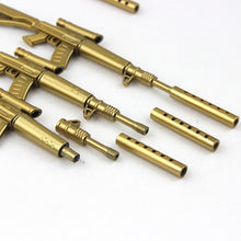 5 Golden Rifle Stationery Pens