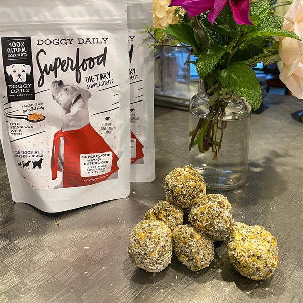 Doggy Daily Bliss Balls - 8 Pack - SOLD OUT