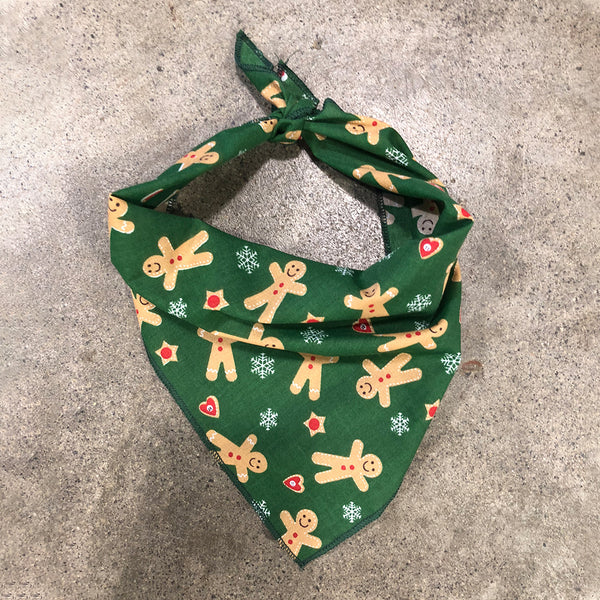 Ginger Woof Men Dog Bandana | Christmas Bandana | Doggy Daily NZ