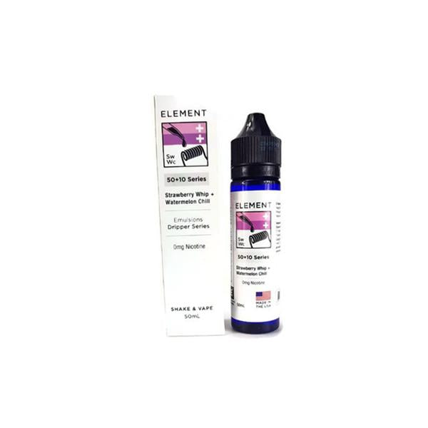 Element Emulsion Series 0mg 50ml Shortfill (80VG/20PG)