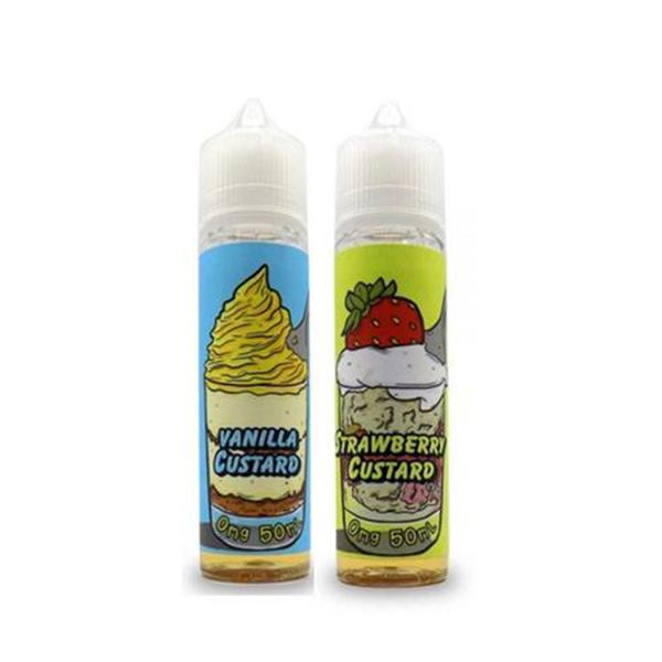 Bear State Vapor Custard 0mg 50ml Shortfill (70VG/30PG)