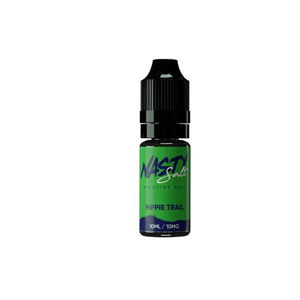 Nasty Salt 10mg 10ML Flavoured Nic Salt (50VG/50PG) - vape-bonanza