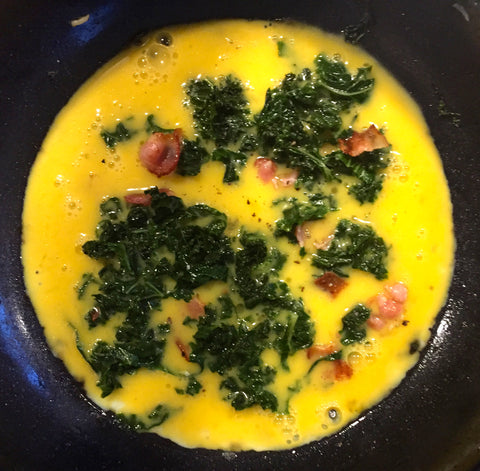 Kale Omlette Cooking with Kids Everyday Family Goodness No Added Sugar