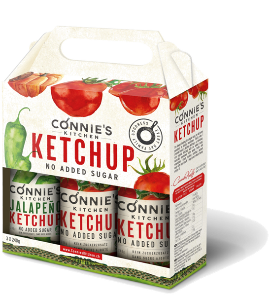 Connie's Kitchen Ketchup Grill Pack