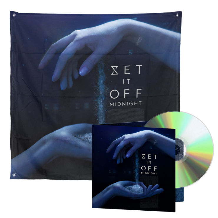 Limited Edition Wall Flag/CD  Bundle
