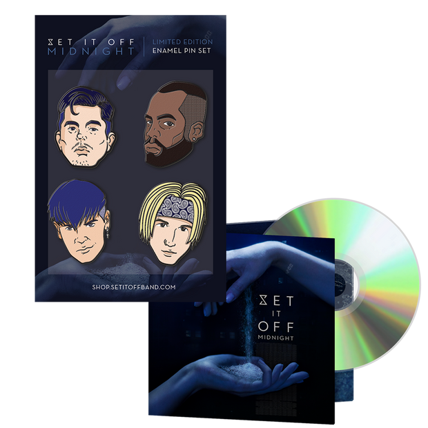 Set It Off Enamel Pin Pack Bundle