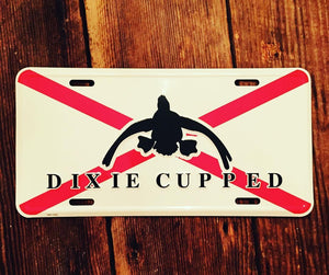 Dixie Cupped - Car Tag