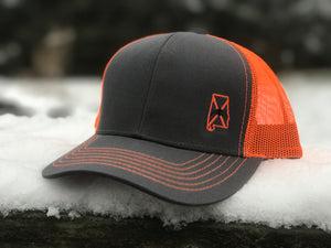 Dixie Cupped - High Visibility Orange Cap